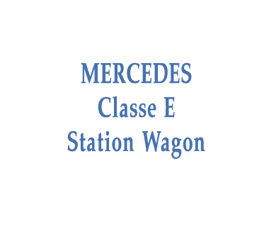 Mercedes E Statio Wagon